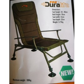 FOX DURALITE CHAIR XL