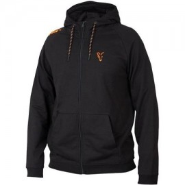 SUDADERA FOX BLACK /ORENGE LW HOODY TALLA XL