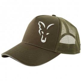 GORRA FOX GREEN & SILVER TRUCKER CAP - VERT