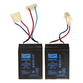 baterias ope co au 6v 4,5a x2 para pacboat